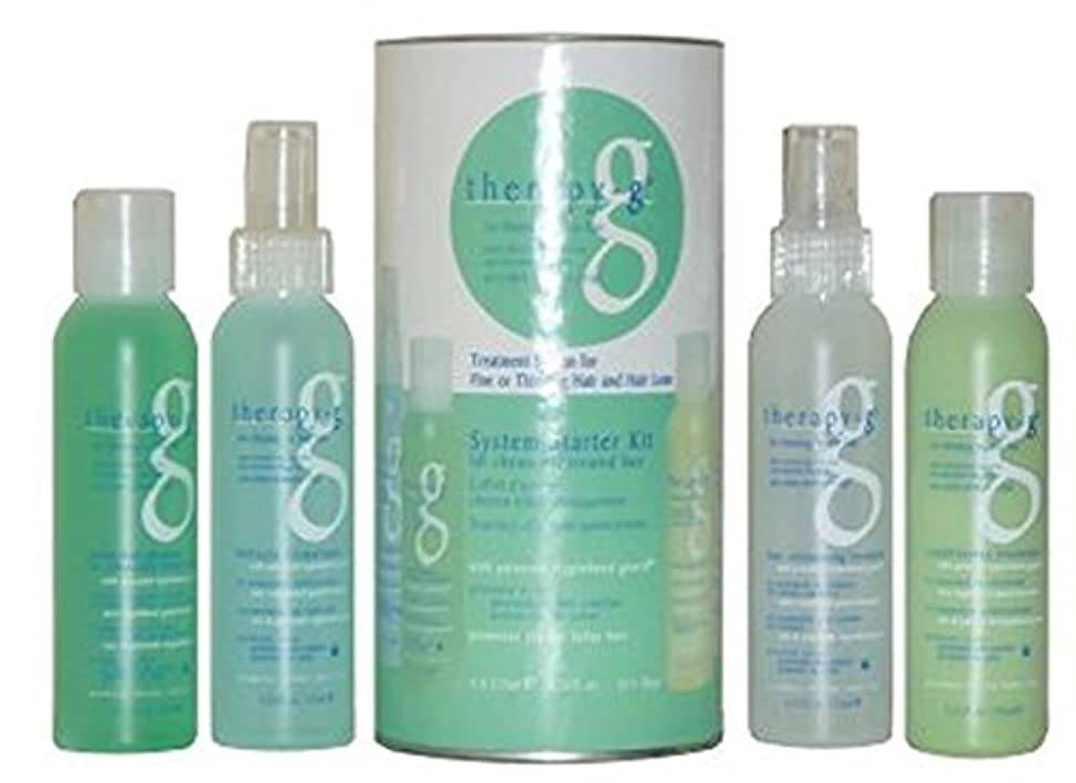 Therapy-G System Starter Kit (45 Day) for Chemically Treated Hair