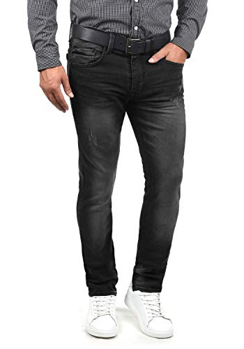 Blend Husao Herren Jeans Hose Denim Aus Stretch-Material Slim Fit, Größe:W31/34, Farbe:Denim Black (76204)