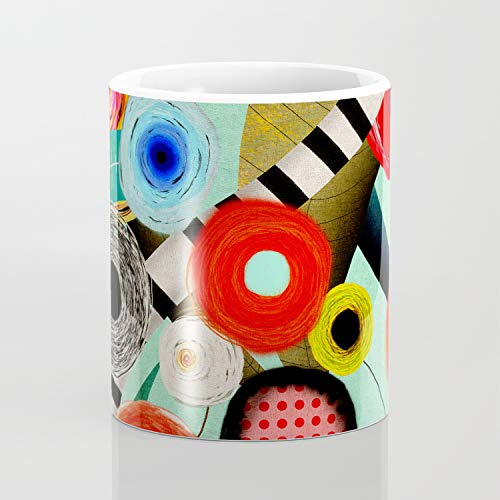 Ciao Bella - Taza de café (325 ml), diseño artístico