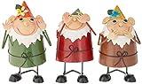 Design Toscano NA75077 See, Hear, Speak No Evil Garden Gnome Bobblehead Statues, Full Color