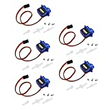 SG90 Micro Servo Motor 9G RC Robot Helicopter Airplane Boat Controls 5pcs