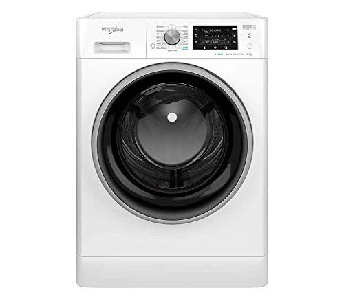 Whirlpool FreshCare FFD8448BSVUK Freestanding Washing Machine, 8kg, 1400rpm, White
