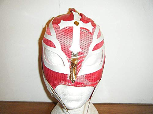 rouge Rey Mysterio masque combattant pour enfants et jeunes TEENS