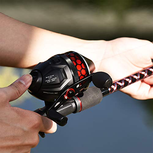 KastKing Brutus Spincast Fishing Reel,Reversible Handle for Left or Right Casting.