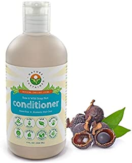 Probiotic Sensitive Skin Cleansing Conditioner [Unscented] – Raw Probiotic Soapberry Formula (pH Balanced) for Hydrated & ...