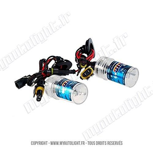 2 ampoules H1-6000K - 55W de rechange pour Kit Xénon HID