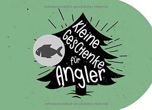 Kleine Geschenke für Angler: Individuelles Geschenkbuch (blanko) zu Weihnachten als Geschenk für Fischer, Angel-Freunde und Aquaristen