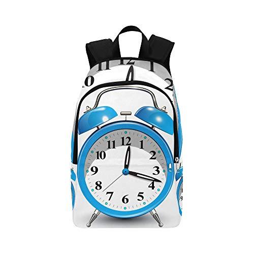 DKGFNK Sports Bag for Men Small Exquisite Color Alarm Clock Durable Water Resistant Classic Best Hiking Bag Travel Bag for Men Bag Men Sport Bag School for Girl