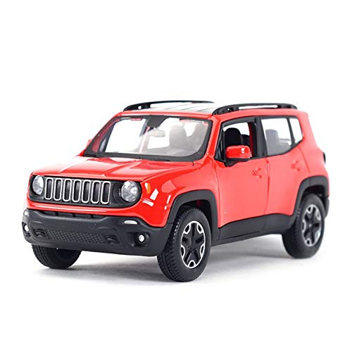GUOQIANRU 1:24 For Jeep Static Ratio Die-casting Simulation Car Model Car Children's Gift Toy Car Collection Decoration Education Diecast Model Car (Color : 1)