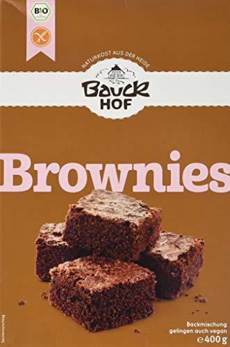 Bauckhof Brownies glutenfrei, 3er Pack (3 x 400 g) - Bio