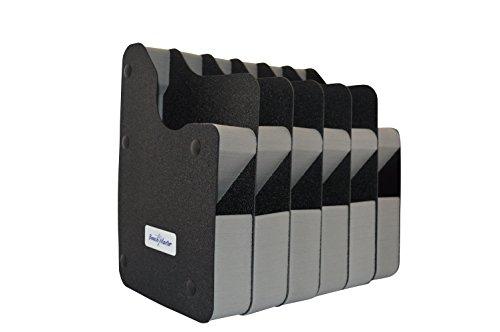 BenchMaster - Weapon Rack - Six (6) Gun Vertical Pistol Rack - Gun Safe Storage Accessories - Gun Rack