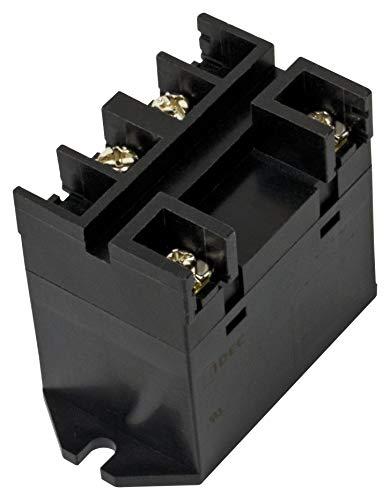 RL1N-D-A100 - Power Relay, IP40, SPDT, 120 VAC, 30 A, RL Series, DIN Rail, Panel, (Pack of 2)