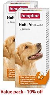 Dog vitamin pet vitamin Beaphar MULTI-VIT WITH CARNITINE DOG 50 ML Value pack of 2 pcs