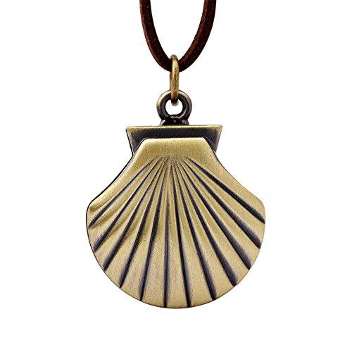 Retro Creativity Mini reloj de bolsillo de bronce colgante collar cadena números árabes reloj de bolsillo regalo accesorio de moda