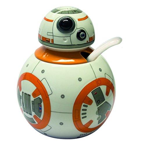 Joytoy Star Wars-BB - Azucarero con Cuchara de cerámica (8 x 12...