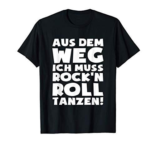 Muss zum RocknRoll! - Rock n Roll Kleidung Rock n Roll T-Shirt