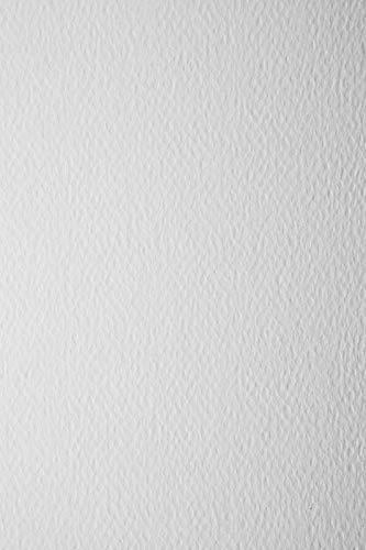Netuno 20 x Weiß 100g Papier beidseitig strukturiert DIN A4 210x297 mm Prisma Bianco weißes Bastel-Papier geprägt Papier Textur-Struktur Weiß Prägepapier Weiß A4