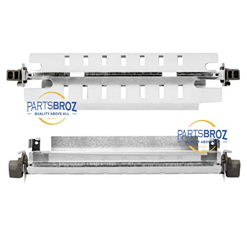 WR51X10055 Defrost Heater and Bracket Assembly by PartsBroz - Compatible with GE & Kenmore Refrigerators - Replaces AP3183311, 914088, AH303781, EA303781, PS303781, WR51X10030
