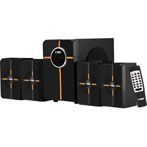 Altec Lansing AL-3002 B 45 Watt 4.1 Channel Wireless Bluetooth Multimedia Speaker (Black Orange)