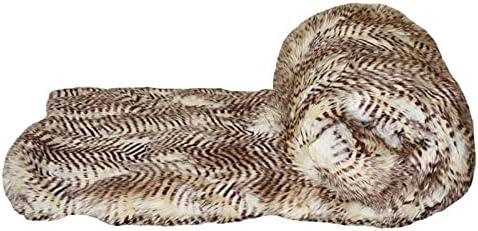 Faux Addict 50x65 Satin Reverse Siberia Denver Mall 2021 new in Luxury Fur Throw