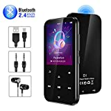 Gueray Bluetooth MP3 Player 16GB HiFi Lossless Sound Music Players with Headphone Video