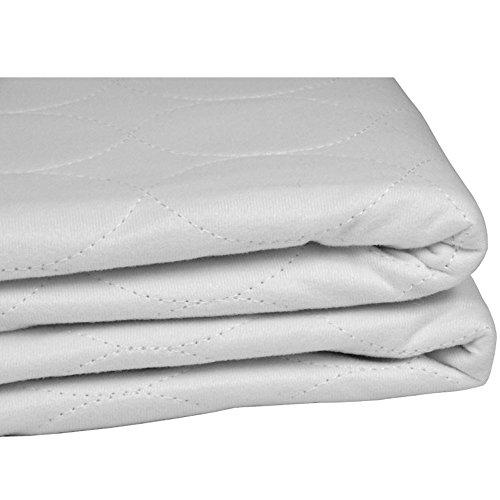 Pack de 2 Empapadores Suavisec 4 capas 90x85, protector de colchón 4 capas, protector de cama con alas, para adultos, bebés y niños, super absorbente, impermeable, 2 unidades ✅