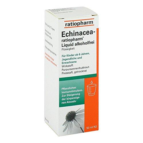 ECHINACEA-RATIOPHARM Liquid alkoholfrei 50 ml Lösung