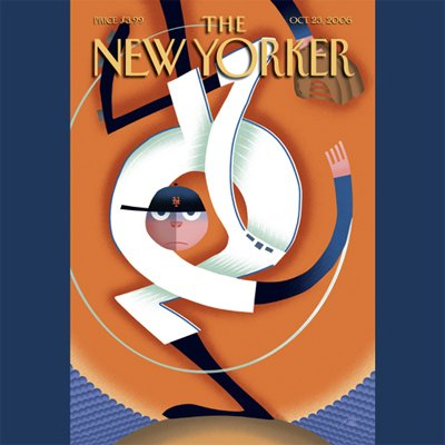 The New Yorker (Oct. 23, 2006) audiobook cover art