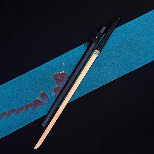 Lunghezza: lunghezza totale 103 cm, lunghezza impugnatura 26 cm, lunghezza lama 73 cm Può abbinare diversi costumi Colore: color legno Materiale coltello: bambù Adatto per carnevali, feste a tema o altre feste in maschera.