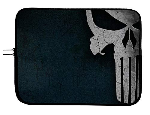 Punisher Superhero Laptop Notebook Tablet Case Sleeve Bag 13 13.3' Mac Book Pro/Mac Book Air Surface Pro Laptop/Tablet Water Repellent Neoprene Cushioned Case