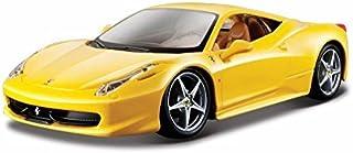 Ferrari 458 Italia Yellow 1/24 by Bburago 26003