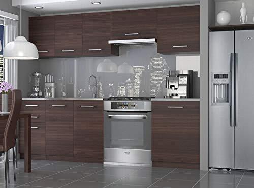 Tarraco Comercial Muebles de Cocina - Economy 240 CM Castaño