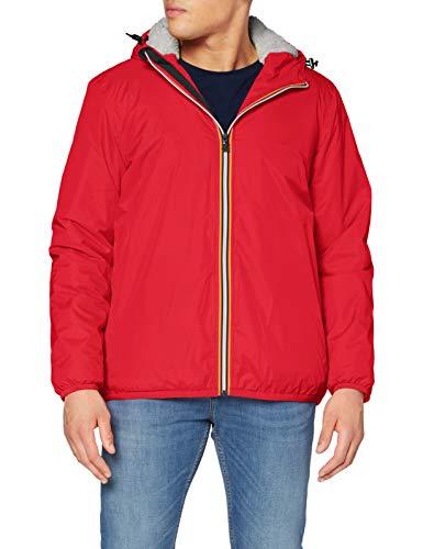 K-Way Le Vrai 3.0 Claude Orsetto Jacket, Red Vermilion, S Mixte