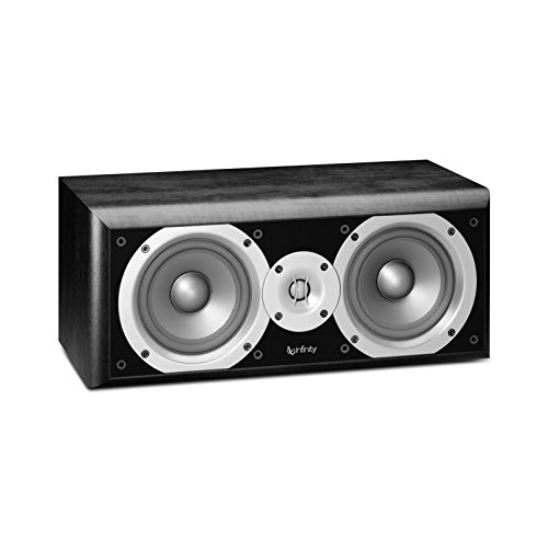 Infinity Primus Two-way dual 5-1/4-Inch Speaker (Each, Center-Channel, Black)
