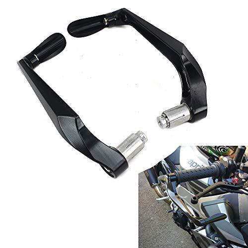 Protector de palanca de freno de aluminio CNC 3D para manillar universal de 7/8 pulgadas para la mayoría motocicletas deportivas y motocross y