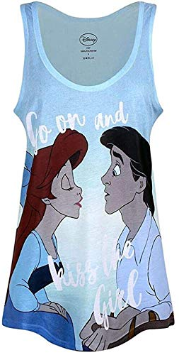 The Little Mermaid - Go On & Kiss The Girl - Oficial Mujer Chaleco (Camiseta)