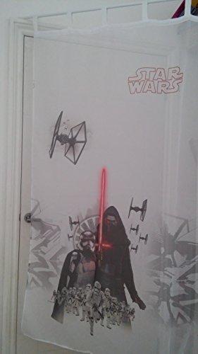 sophia the first Star Wars Voile Net Curtain 150 cm Width x 155 cm Drop