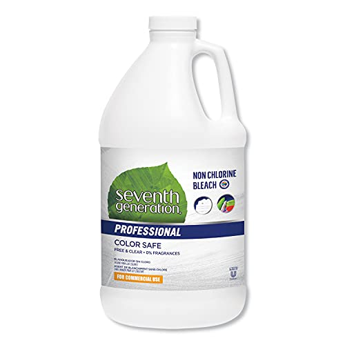 Single Seventh Generation Professional Non Chlorine Bleach, Free and Clear, Unscented, Color-Safe, 64 Fluid Ounce - 1 Each