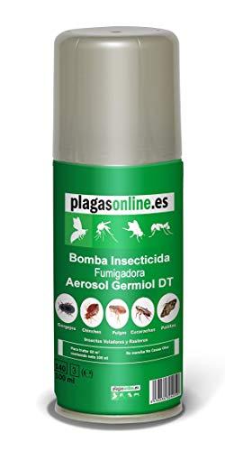 Bomba Insecticida Fumigadora 100ml Anti Chinches, Ácaros, Pulgas, Cucarachas…
