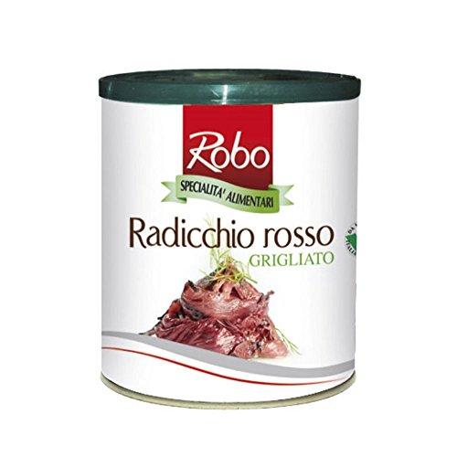 GR 700 RADICCHIO ROSSO GRIGLIATO IN LATTA GRILLED RED CHICORY