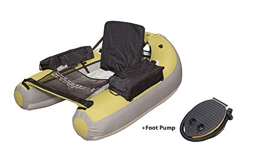 Wistar Inflatable Fishing Float Tube-006