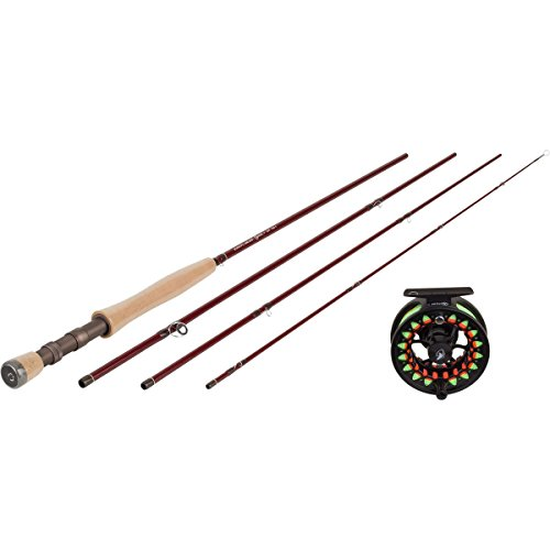 Scientific Anglers Ampere Outfit Complete Rod, Reel, Line, and Rod Tube