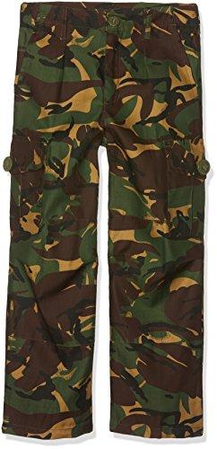 Highlander Combat Cargo Pantalon Unisexe pour Enfant, Mixte Enfant, Pantalon, TR021Y-BC-12Y, Camouflage, 12