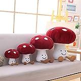 Fun Sunma Lovely Mushroom Pillow Stuffed Plush Mushroom Pillow (8 inches)