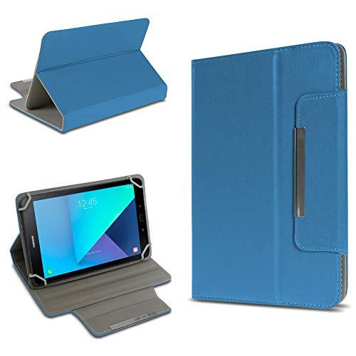 UC-Express Tablet Tasche kompatibel für Samsung Galaxy Tab Active 2 Hülle Tablet Schutzhülle Hülle Schutz Cover, Farben:Blau