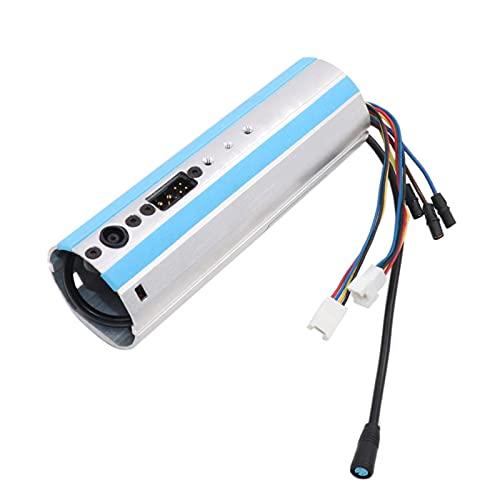 Ninebot - Repuesto para escúter ES1, ES2, ES3, ES4, escúter activado, Consejo, Dashboard control aleación de aluminio, accesorios para patinete eléctrico plegable (15x5 x 5 cm)