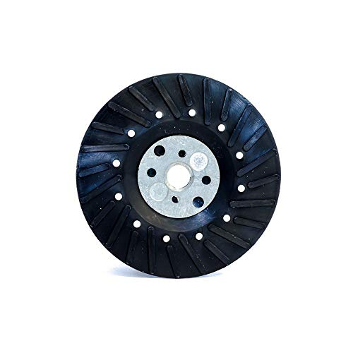 BHA Angle Grinder Ribbed Backing Pad for Resin Fiber Disc, 7