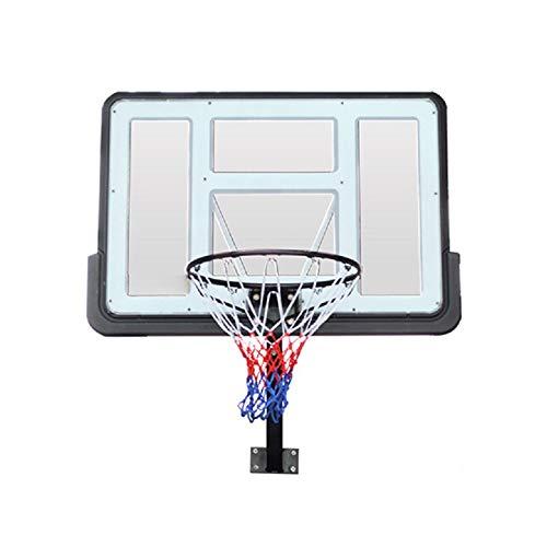 Canasta de baloncesto para niños De los niños de pared Marco de soporte de baloncesto Ocio cubierta estándar for adultos de baloncesto for los adolescentes Kids Práctica cubierta al aire libre Aro de