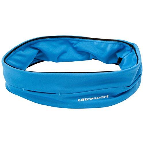 Ultrasport con Compartimento de Tubo Cinturón de Correr, Unisex, Azul, S