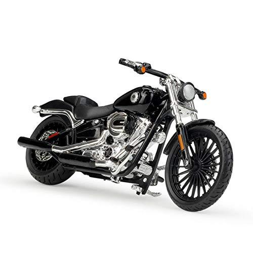 1:18 Motorbike Moto Maisto Harley-Davidson 2002 FXSTB Night Train blau metallic